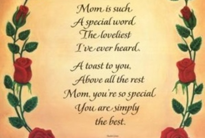 how to write a mothers day poem She is your friend and she is also a caring mom she has her hands full and her heart is overflowing with love show your appreciation for her with our mother's day ecards and tell her how amazing she is.