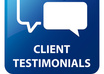 provide 2 well written testimonials for your website