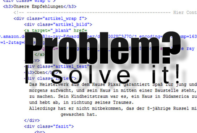 help you with your Html or Css or PHP problems