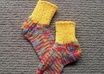hand knit any sized pair of socks