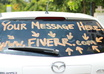 drive around Hollywood w/your message/ad on my car
