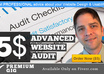 audit your WEBSITE design and usability from a web designer point of view