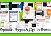 share my collection of Squeeze Pages, Landing Pages and Opt in Templates