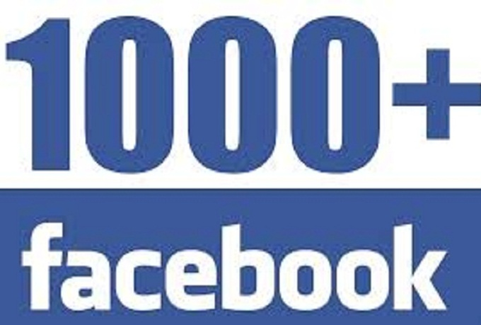 add 1000 High Quality Stable Facebook Fans