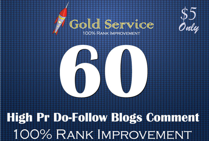 build 60 do follow blogs comment back links