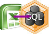 convert your spreadsheet data into sql query
