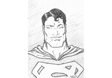 Superhero Face Drawing...