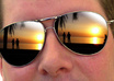 make any picture appear as sunglasses lens reflection