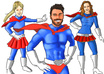 draw you as a super hero