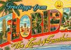 say anything on a postcard and send it from Florida
