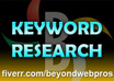 do indepth keyword research and provide high traffic, low competition keyphrases