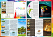 design  brochure flyer postcard rackcard Or Catalog any 1 design A5 size 1 side small1