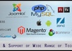 do Php Mysql WordPress Joomla  Magento work
