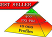 create High PR Pyramid 400+ PR1 to PR6 Or Even Higher Profile Backlinks With Unlimited URLs and Keywords  and 10 000 + On 2nd Layer small1