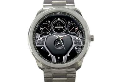 Ship out this mercedes benz cls63 amg sport metal watch to worldwide