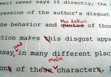 Teacher Grading Essays