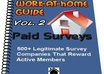 give you a list with 500 Paid Surveys Companies That You Can Join For Free