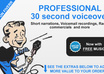 record a PROFESSIONAL voiceover small1