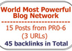 improve your Serp with 30 Backlinks from 10 posts tapping The Authority Link Network small1