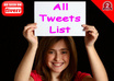 give you a List of 14500 Premade Precompiled All Lists TWEETS For Twitter That Consists Of All From My Other eight Lists combined together small1