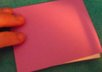 make and ship 2 small notepads, any color,