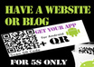 make your website or blog into an ANDROID App and give you the app file or a Qr codefile