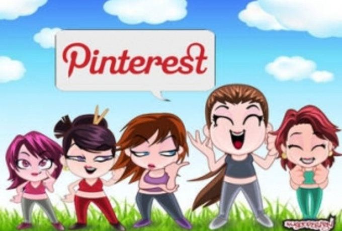 pinterest  your website from 1000 accounts to blast your SEO google
