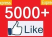 add 5100+ likes to any of your facebook page just in 4 hours
