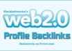 create over 150 WEB 2,0 Profile Backlinks on High Page Rank Sites