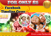 design AWESOME facebook timeline cover for your facebook fanpage, profile or group within 24 hours