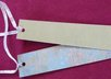make and ship 7 bookmarks with ribbon