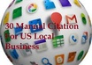 create 30 top citation for US local business