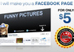 create a professional facebook page for your business and include 25 likes