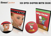 create a professional looking 3D cd or dvd case with the disk small1